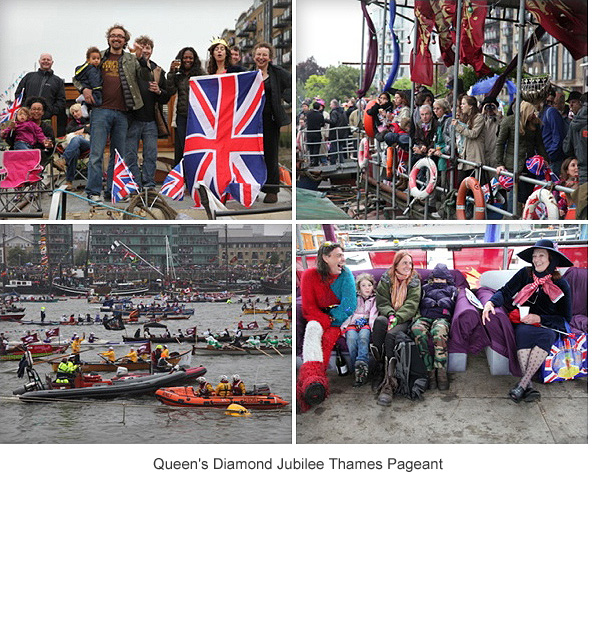 Queen's Diamond Jubilee Thames Pageant